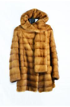 Золотой норки куртк&