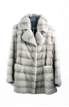 Сапфир норки куртка