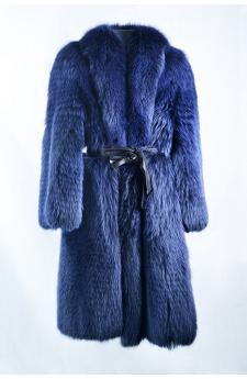 Cappotto volpe blue