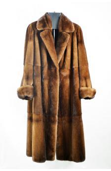Cappotto di visone demi buff