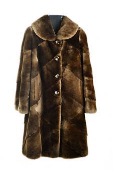 Cappotto castorino naturale